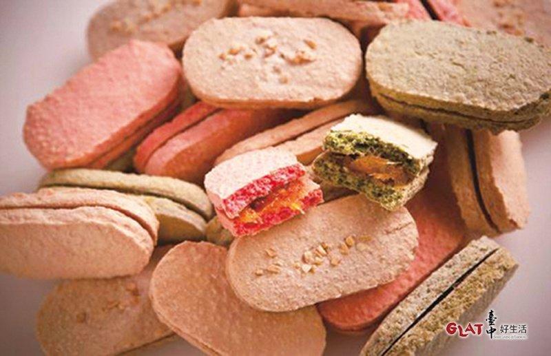 法布甜─無油法式鳯梨酥。(圖/ 台中好生活提供)