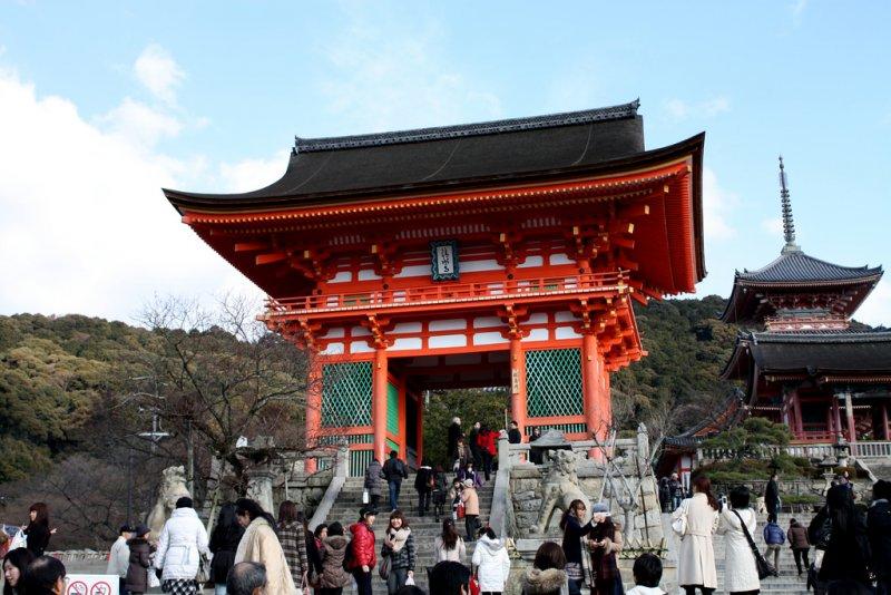 京都著名景點清水寺明年春天起將整修、封園三年,想去要趁早啊!(圖/Ann Lee@flickr)