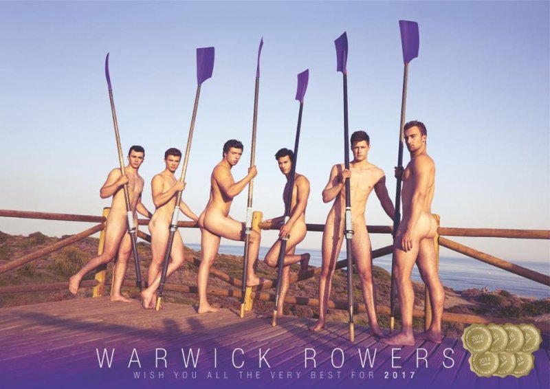 (圖/The Warwick Rowers Calendar@facebook)