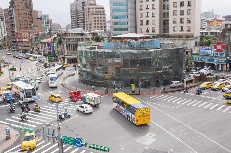 20161124-台北建成圓環24日即將進行拆除工程,正式走入歷史。(顏麟宇攝)