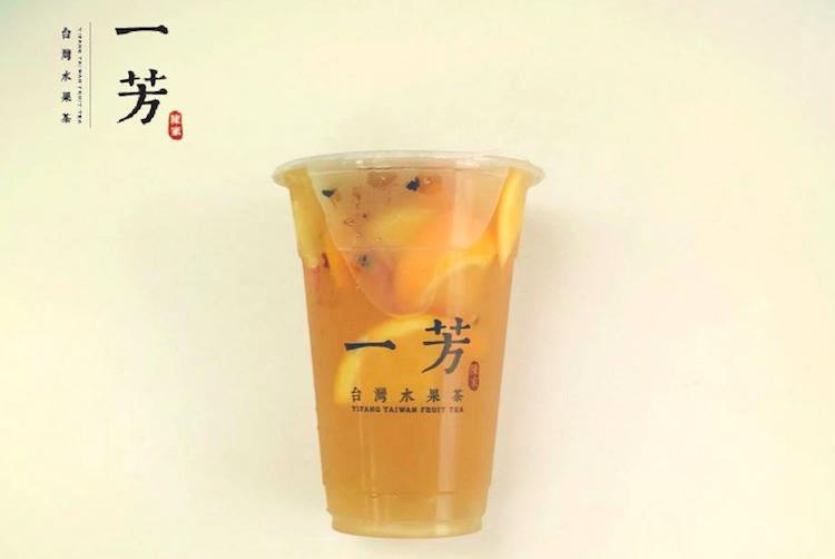 招牌水果茶必點!(圖/一芳水果茶@facebook,Klook提供)