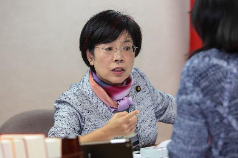 20161128-民進黨立委尤美女28日出席立法院司法法制委員會公聽會。(顏麟宇攝)