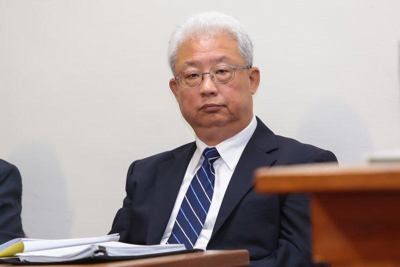 20161128-台電董事長朱文成28日至立院備詢。(顏麟宇攝)