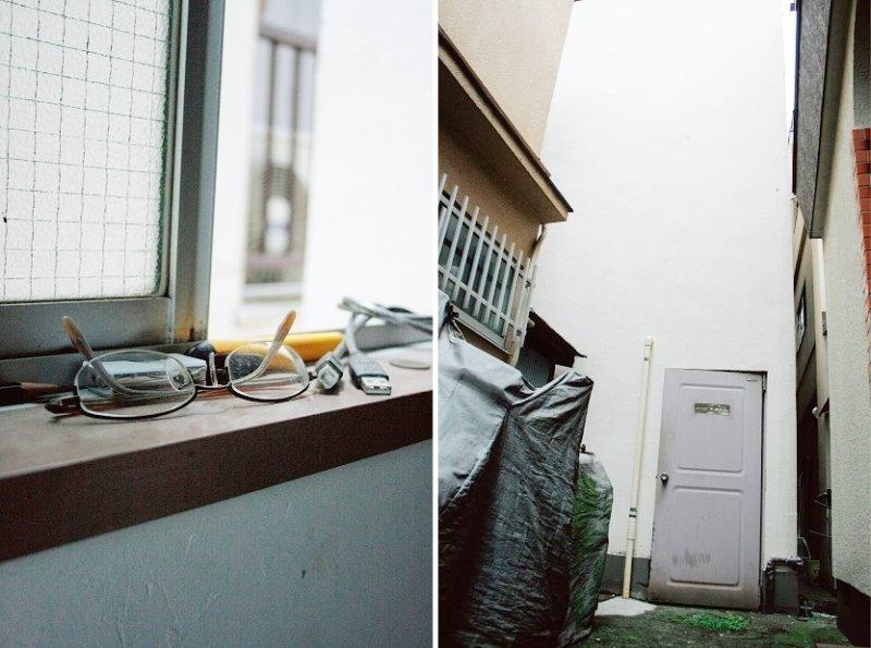 非常難找的租屋處入口,即使居住空間較為克難,只要有書可看仲保昭廣便感到滿足。(圖/時報出版提供)