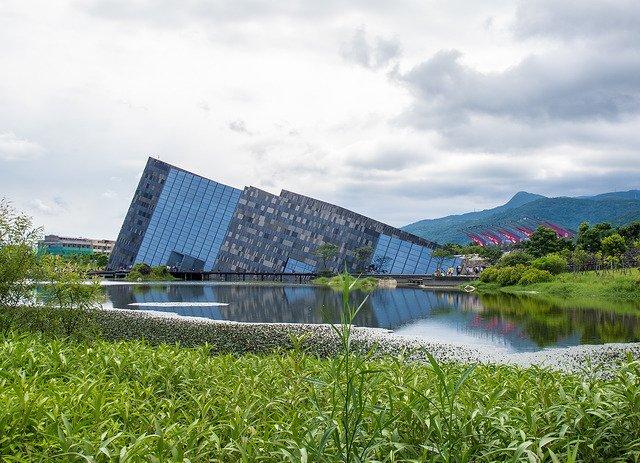 蘭陽博物館。(圖/Jiashiang@Flickr,HotelsCombined提供)