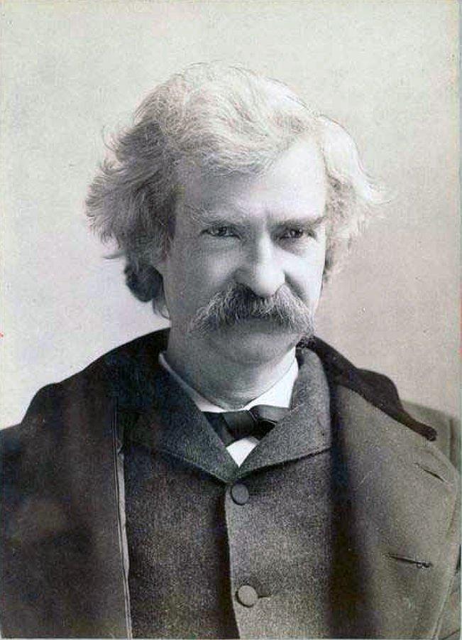 中年的馬克吐溫(Wikipedia/Public Domain)