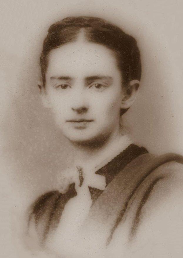馬克吐溫的妻子奧莉維亞(Olivia Langdon)(Wikipedia/Public Domain)