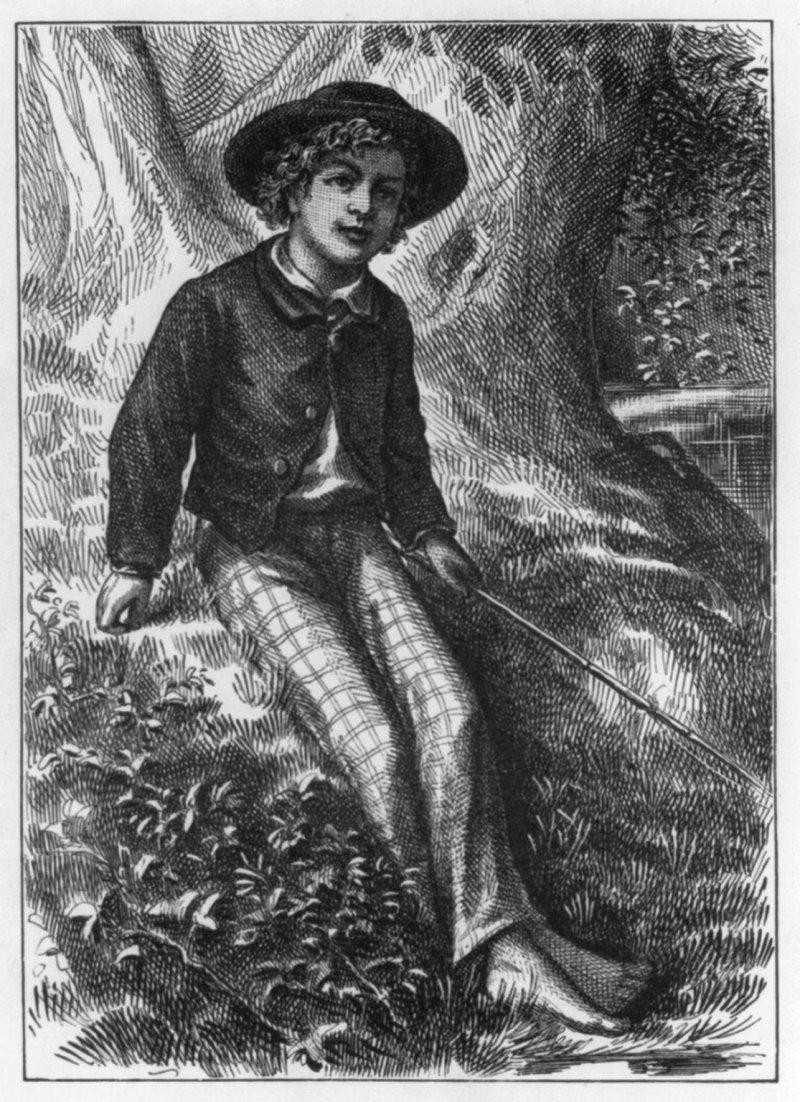 《湯姆歷險記》第一版的首頁(Wikipedia/Public Domain)