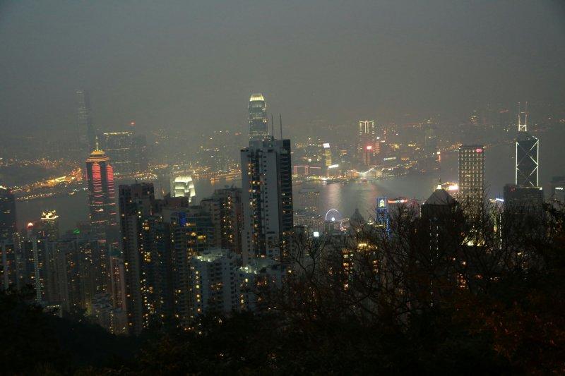 20161201-SMG0045-007-香港維多利亞港夜景。(資料照,顏麟宇攝)