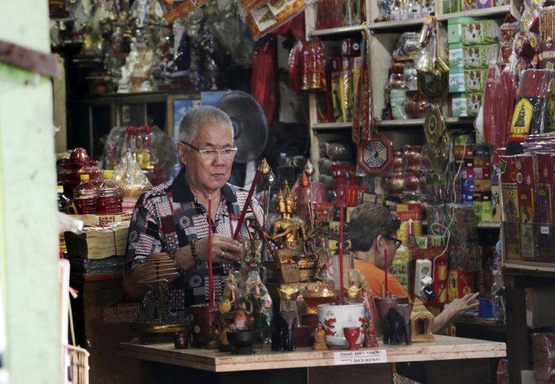 反雅加達首長鍾萬學的聲浪越來越大,當地華人憂心有如「黑色五月」的排華事件再發生。(美聯社)