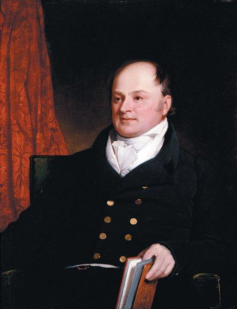 當時的外相約翰昆西亞當斯(John Quincy Adams),後也成為美國總統。(wikipedia/public domain)