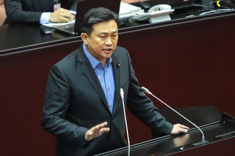 20161202-民進黨立委王定宇2日針對勞動基準法部分條文修正草案進行廣泛討論。(顏麟宇攝)