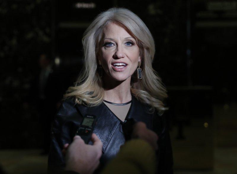 美國總統當選人川普(Donald Trump)重要幕僚康威(Kellyanne Conway)(AP)