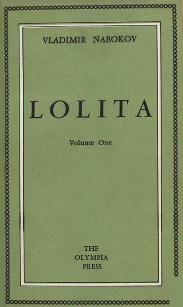 《蘿莉塔》初版封面,這家出版社以「伴手禮」情慾小說聞名。(圖/維基百科公有領域)