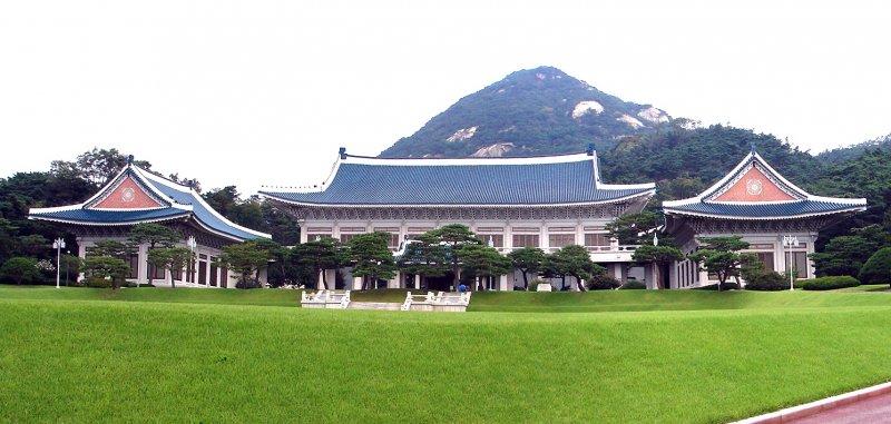 南韓總統府青瓦台( Steve46814@Wikipedia / CC BY-SA 3.0)
