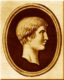 古羅馬詩人Martial。(取自維基百科,作者提供。)