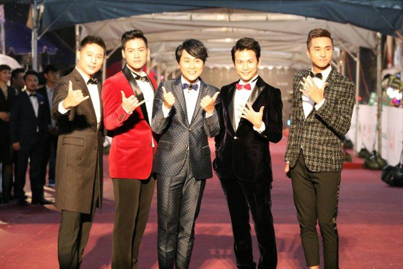 除了金曲獎之外,台中跨年晚會也能看到5566合體啦!(圖/擷取自pop微博)