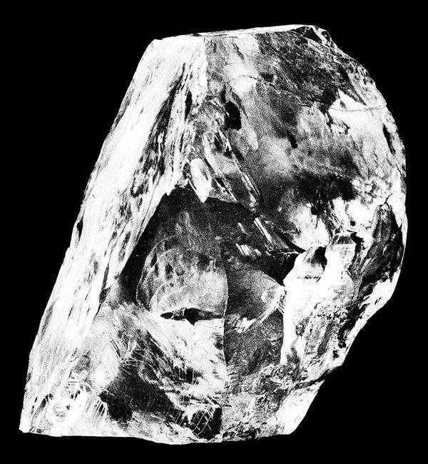 卡利南鑽石(Cullinan)(Wikipedia / Public Domain)