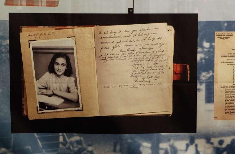 《安妮日記》的作者安妮.法蘭克(Anne Frank)到底是如何遇害,近來史學界又有爭議(AP)