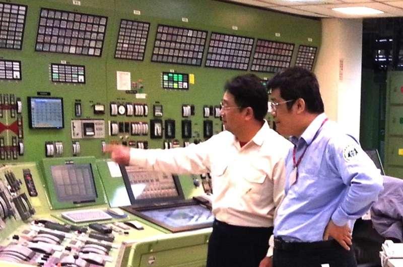 原能會視察核三廠。(資料照/原能會官網)