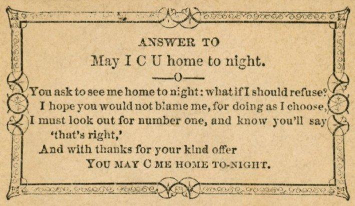 「你可以送我回家」的回覆卡片(圖/Outside提供)