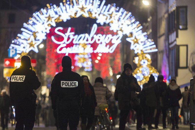 柏林攻擊事件之後,歐美各國維安升級,嚴防聖誕市集成恐攻目標。(美聯社)