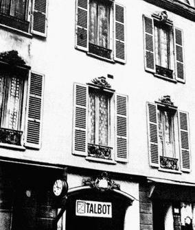 1844年馬克思在巴黎的住所開始研究政治經濟學。(取自中文共產主義資料庫)