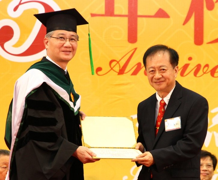 中芯宣布,延攬蔣尚義擔任獨立董事,震撼國內業界。(取自「臺灣大學第八屆傑出校友」)