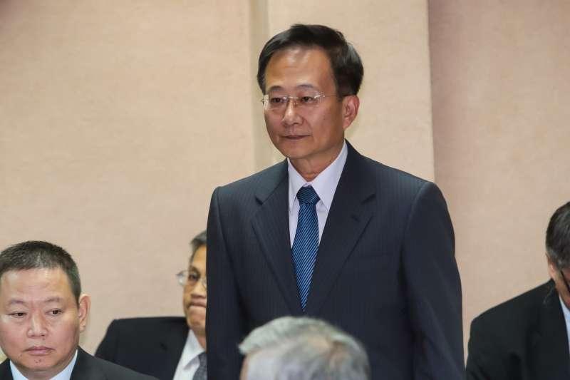 20161222-軍備局代局長張忠誠少將22日出席立院國防委員會。(顏麟宇攝)
