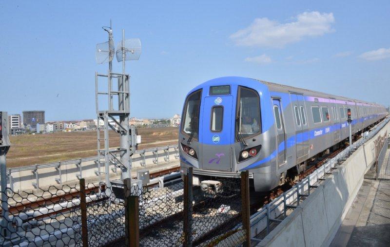 桃園機場捷運若能如期通車,將是亞洲第4條可以預辦登機的機場捷運。(圖/擷取自高速鐵路工程局)