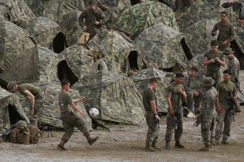 反對者認為,同性戀傾向有礙軍隊團結。(美聯社)