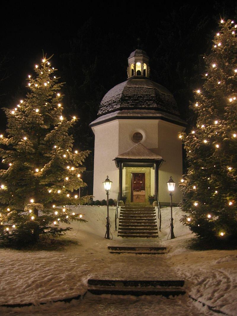 奧地利《平安夜禮拜堂》。(Gakuro@wikipedia/CC BY-SA 3.0)