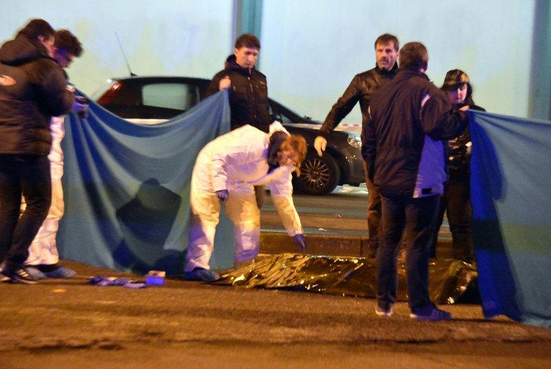 柏林卡車恐攻主嫌安姆里(Anis Amri)23日在義大利遭警方擊斃(AP)