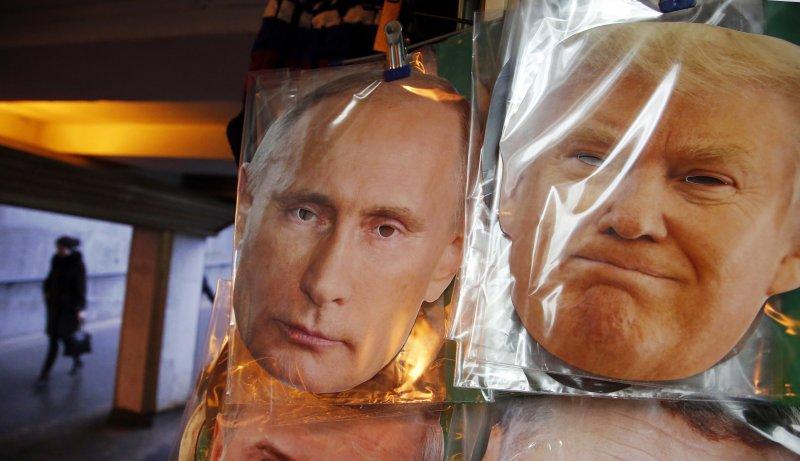 川普過去多次稱讚普京,外界猜測川普上台後美俄關係將升溫。(美聯社)