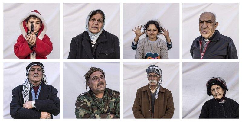 伊斯蘭教國家伊拉克的基督徒,今年在難民營中度過五味雜陳的耶誕節(AP)