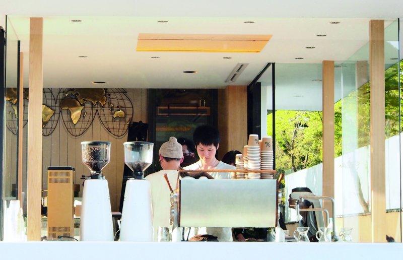 嵐山咖啡(圖/健行文化提供)