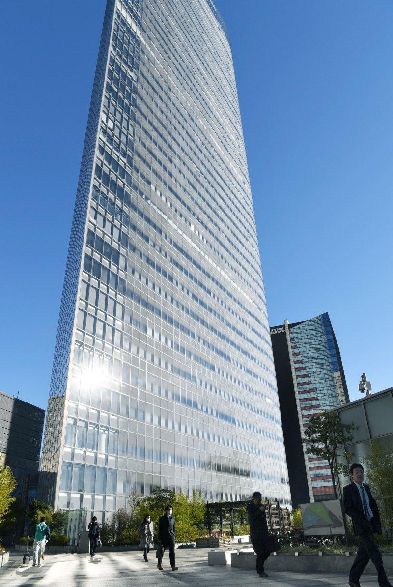 日本廣告業巨頭電通公司(AP)