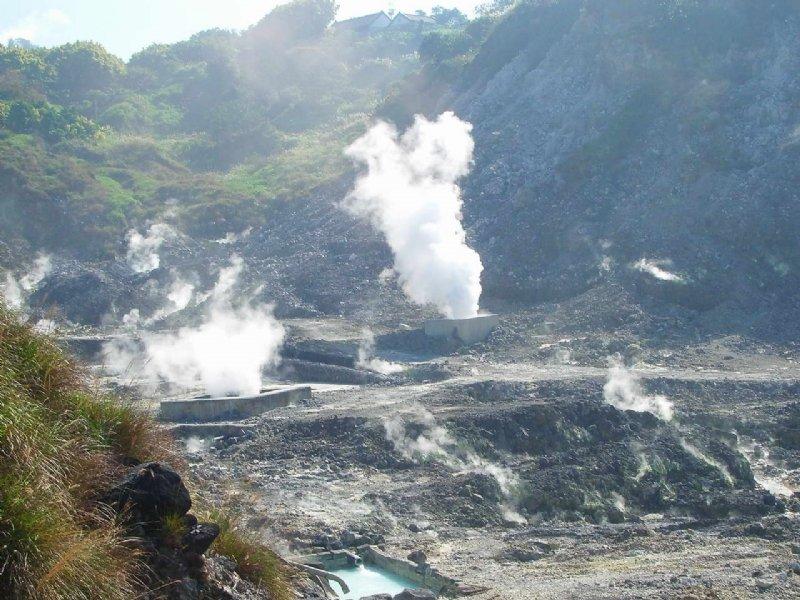 陽明山因有火山的地熱,因此有許多溫泉。(圖/旅遊資訊王,Klook提供)