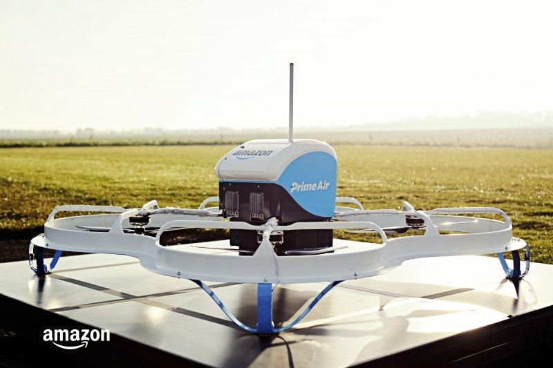 亞馬遜(Amazon)的送貨無人機(AP)