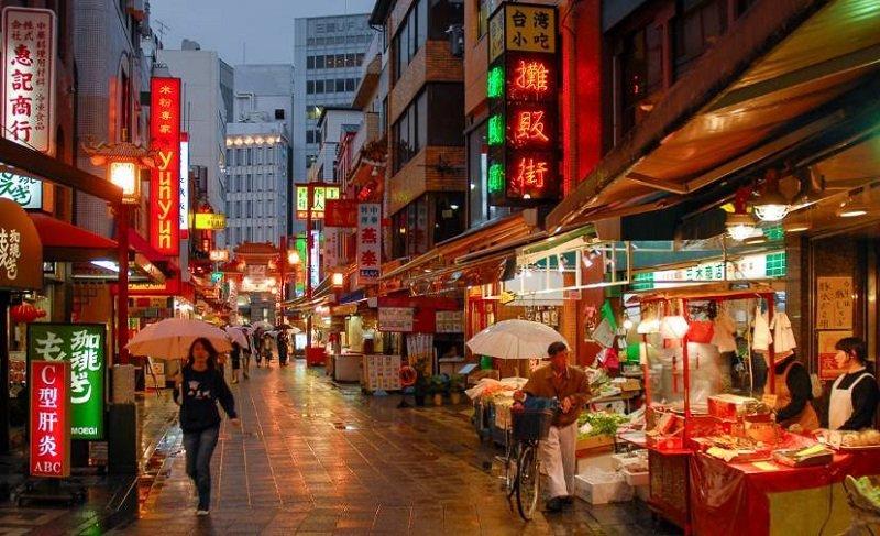 神戶的唐人街。