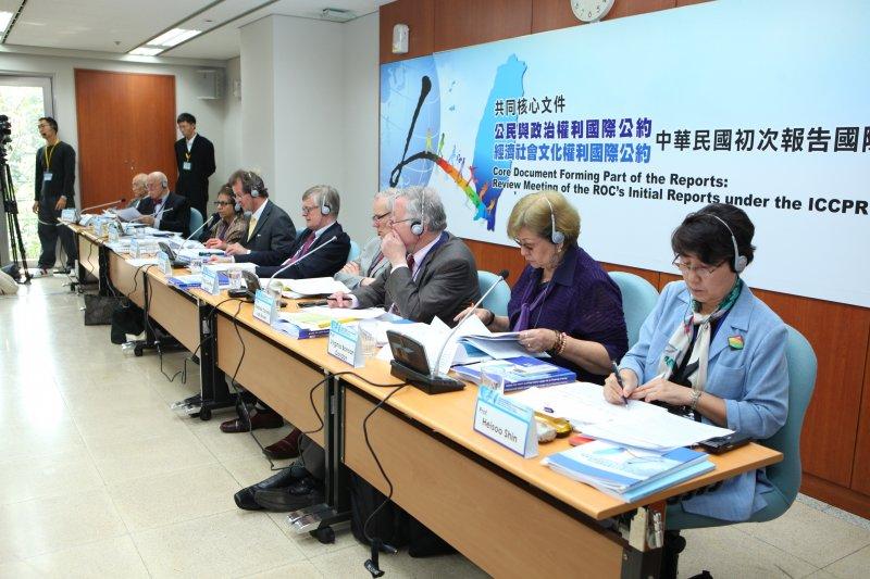 多名應邀來台參加2013年《兩公約初次國家報告》審查的國際專家曾受中國直接或間接的關切,希望他們不要接受台灣的邀請。(法務部)