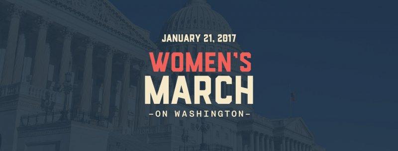 「女人向華盛頓進軍」活動號召所有人在川普上任第二天到白宮遊行。(圖取自Women's March on Washington臉書)