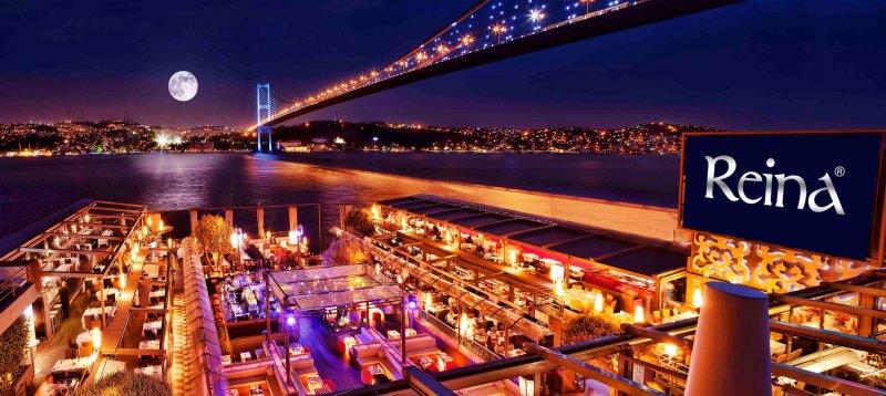 發生恐攻的伊斯坦堡夜店雷娜。(翻攝官方臉書)