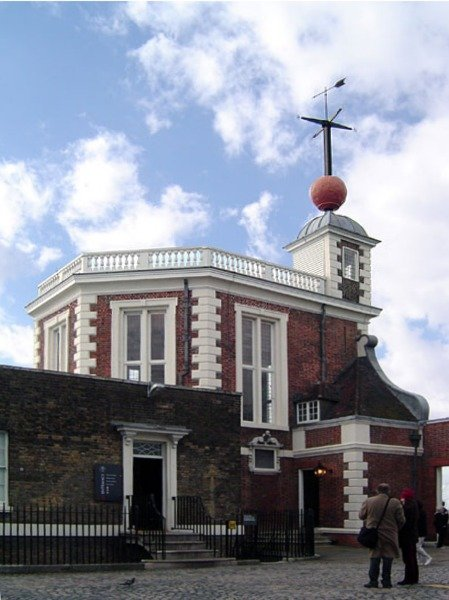 時間球,格林威治天文台(ChrisO@Wikipedia / CC BY-SA 3.0)