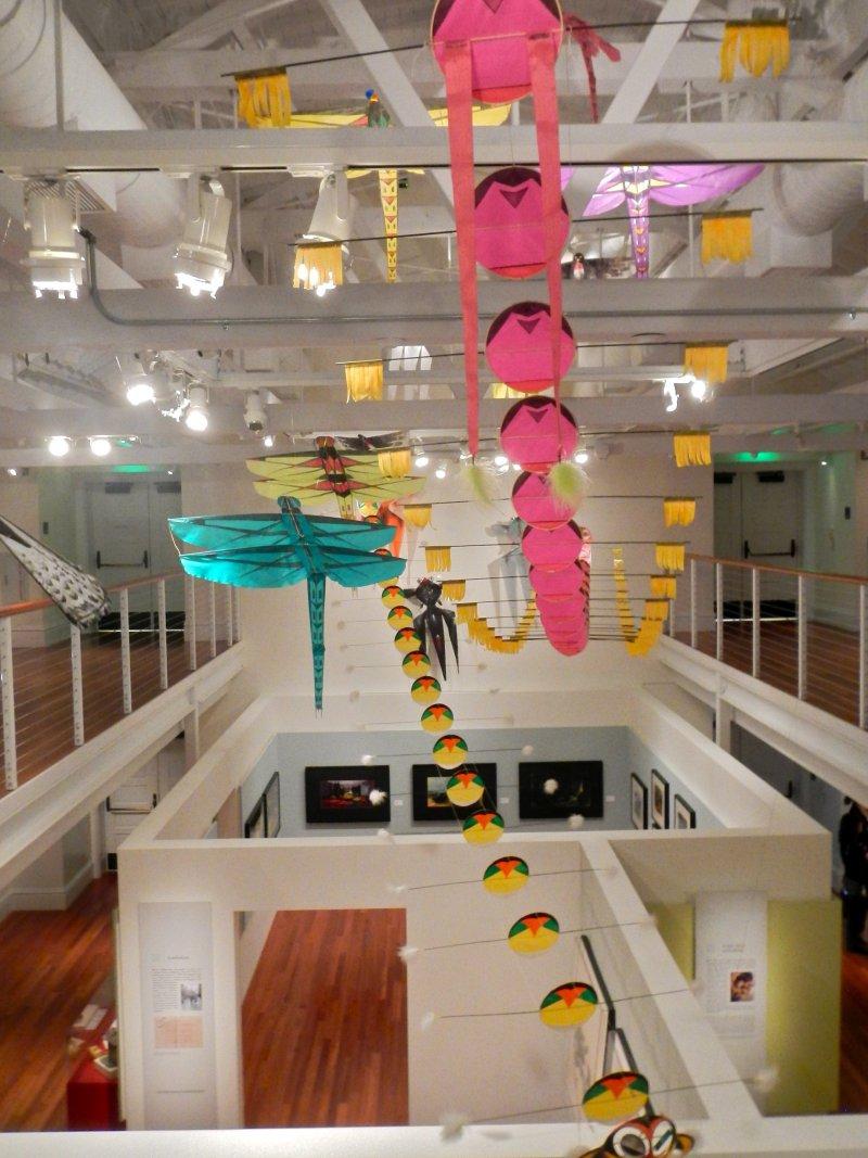 動畫藝術大師黃齊耀(Tyrus Wong)的風箏作品(PunkToad@Wikipedia / CC BY 2.0)
