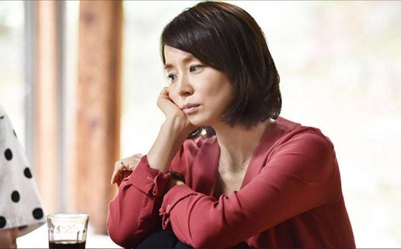 在月薪嬌妻飾演短髮歐巴桑的石田百合子。(圖/日劇經典語錄 日本テレビドラマ名言集@Facebook)