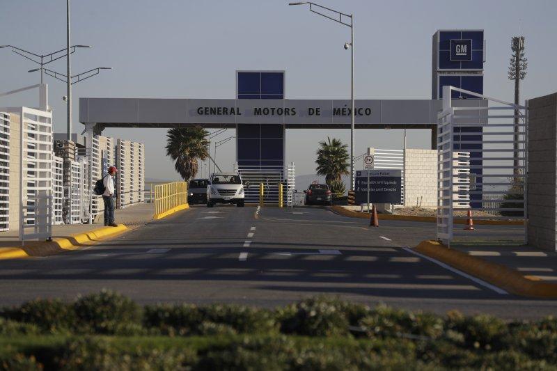 美國通用汽車公司在墨西哥的工廠(AP)