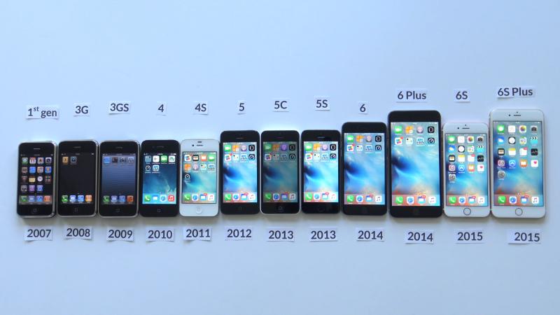 2017年適逢第一代iPhone問世10周年(翻攝YouTube)