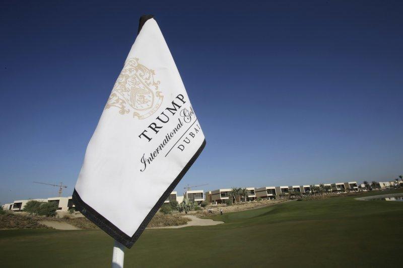 川普企業於杜拜也有投資。(美聯社)