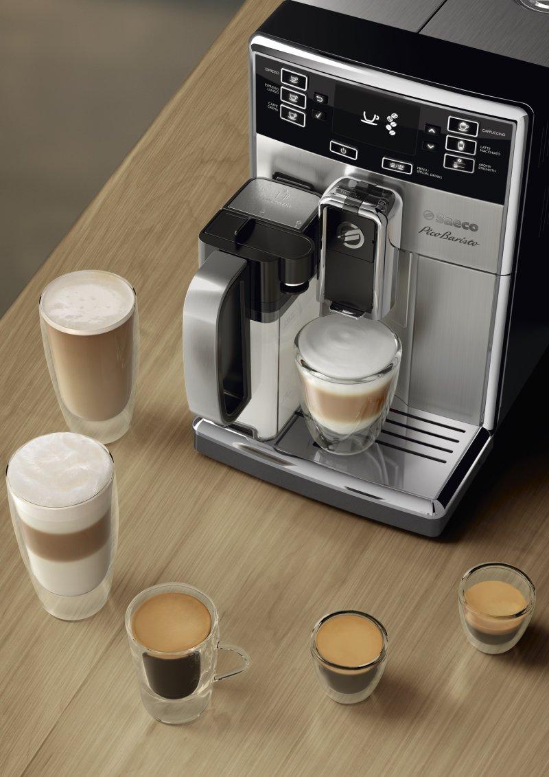 在家也能享有宛如咖啡店現沖調配般的豐富選擇與驚豔口感!(圖/飛利浦提供)